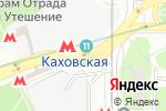 Схема проезда до компании Chicken-Grill в Москве