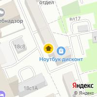 Световой день по адресу Россия, Московская область, Москва, Вадковский переулок, 20с1
