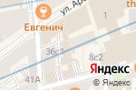 Схема проезда до компании Da! Hostel в Москве