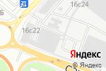 Схема проезда до компании ТБХ в Москве
