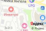 Схема проезда до компании Добрый вечер в Москве