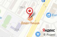 Схема проезда до компании Город Детства в Москве