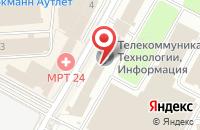 Схема проезда до компании Юнифильтр в Москве