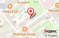 Схема проезда до компании Интернациональное Консалтинговое Бюро в Москве