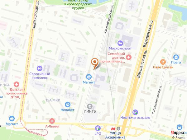 Остановка М-н Мебель в Москве