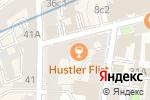 Схема проезда до компании Фабрика Современного Бизнеса в Москве
