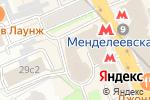 Схема проезда до компании Раском в Москве