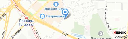 Аквилон на карте Москвы