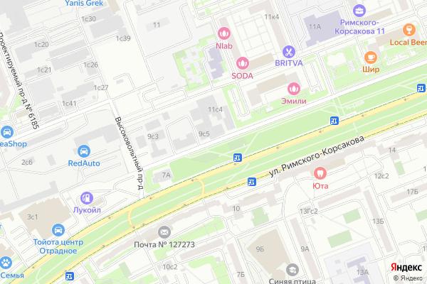Ремонт телевизоров Высоковольтный проезд на яндекс карте