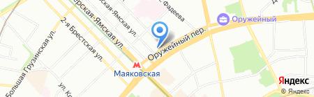 НДВ-недвижимость на карте Москвы