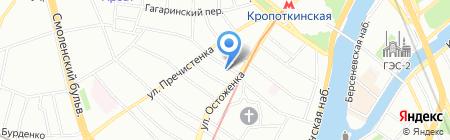 Греческий продукт на карте Москвы