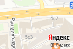 Схема проезда до компании Wasp Jewellery в Москве