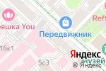 Схема проезда до компании Milores в Москве