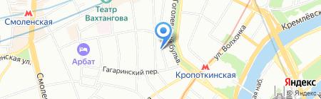 Шпехт на карте Москвы
