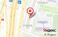Схема проезда до компании Академия МКВ в Москве