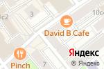 Схема проезда до компании Добрый Слух в Москве