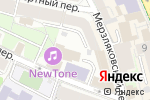 Схема проезда до компании Интерфакс в Москве