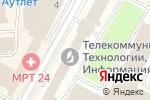 Схема проезда до компании СетьПроект в Москве
