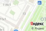 Схема проезда до компании Почтовое отделение №127641 в Москве