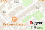 Схема проезда до компании ДСТ-ЦЕНТР в Москве