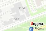 Схема проезда до компании Автосервис по обслуживанию Skoda в Москве