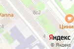 Схема проезда до компании Яуза Спорт в Москве