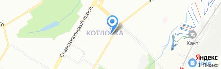 В Успехе на карте Москвы