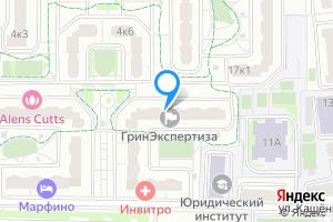 Однокомнатная квартира в Москве ул. Кашёнкин Луг, 6к3