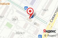 Схема проезда до компании Ранстрой в Москве