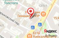 Схема проезда до компании Мегамикс в Москве