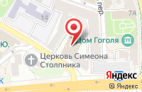 Схема проезда до компании Джет-Медиа в Москве