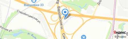 МотоТехнология на карте Москвы