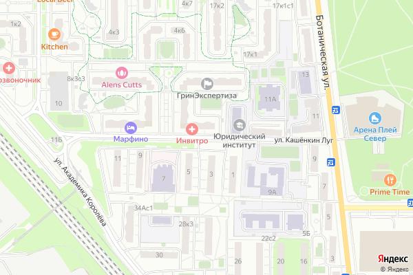 Ремонт телевизоров Улица Кашенкин Луг на яндекс карте