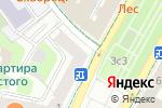 Схема проезда до компании Edem в Москве