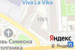 Схема проезда до компании Единый регистрационный центр в Москве