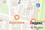 Схема проезда до компании Арбат-1 в Москве