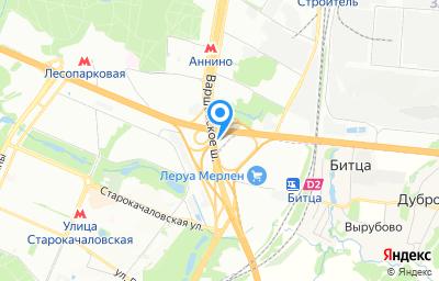 Местоположение на карте пункта техосмотра по адресу г Москва, км МКАД 32-й, влд 15