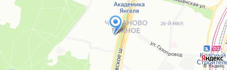 Сударь на карте Москвы