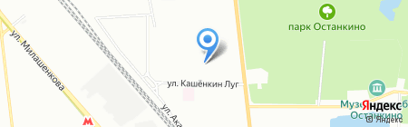 Арт-Турс на карте Москвы