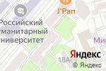Схема проезда до компании PRET-A-PORTER в Москве