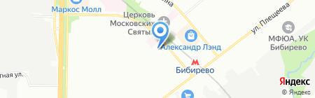 Алло Пицца на карте Москвы
