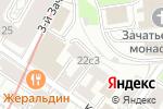 Схема проезда до компании Центральная городская детская библиотека им. А.П. Гайдара в Москве