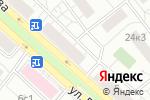 Схема проезда до компании Кызыл-Май в Москве