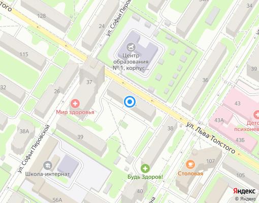 Управляющая компания «Д-СЕРВИС» на карте Тулы