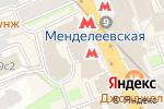 Схема проезда до компании ЦИМбар в Москве