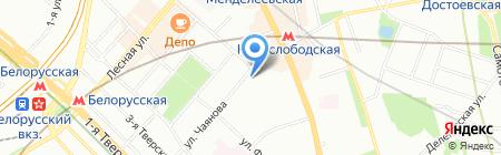 DECORON на карте Москвы
