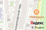 Схема проезда до компании Capital Invest в Москве