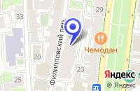 Схема проезда до компании АРХИТЕКТУРНОЕ БЮРО ВОРОНЦОВА в Москве