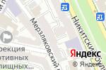 Схема проезда до компании ABN Universal в Москве