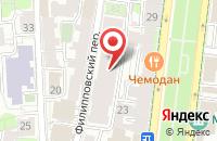 Схема проезда до компании Абп в Москве